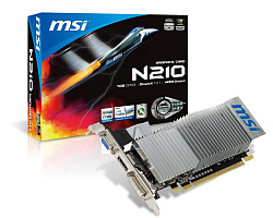MSI GeForce 210 1GB DDR3/64-bit PCIe