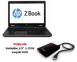 "HP ZBook 15 G1 15.6"" LED FHD"